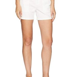 PrAna organic teas shorts blue cranberry white 0